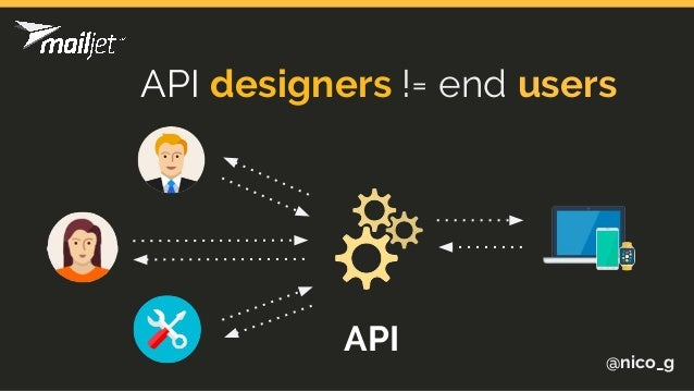 @nico_g API designers != end users API