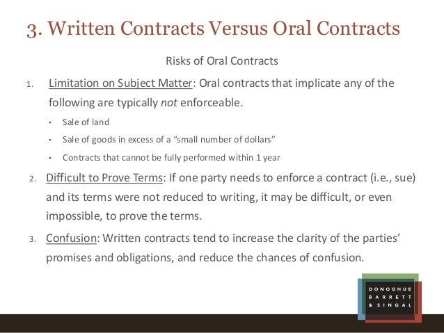 Getting Down To The Details Contract Basics For NonLawyers
