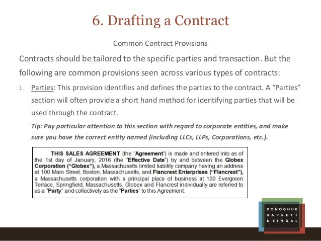 Getting down to the details contract basics for non lawyers 20 platinumwayz