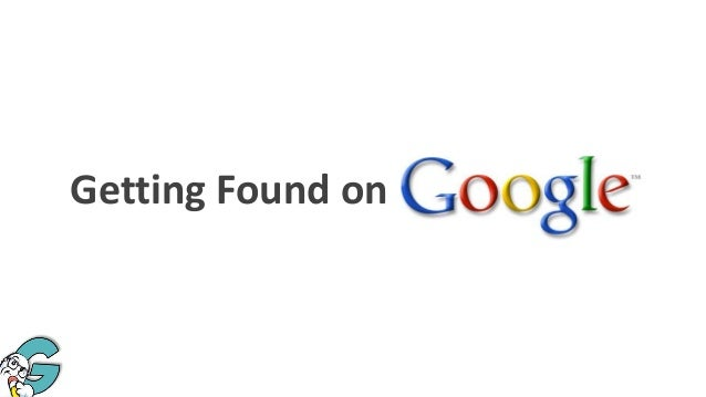 Getting Found on
