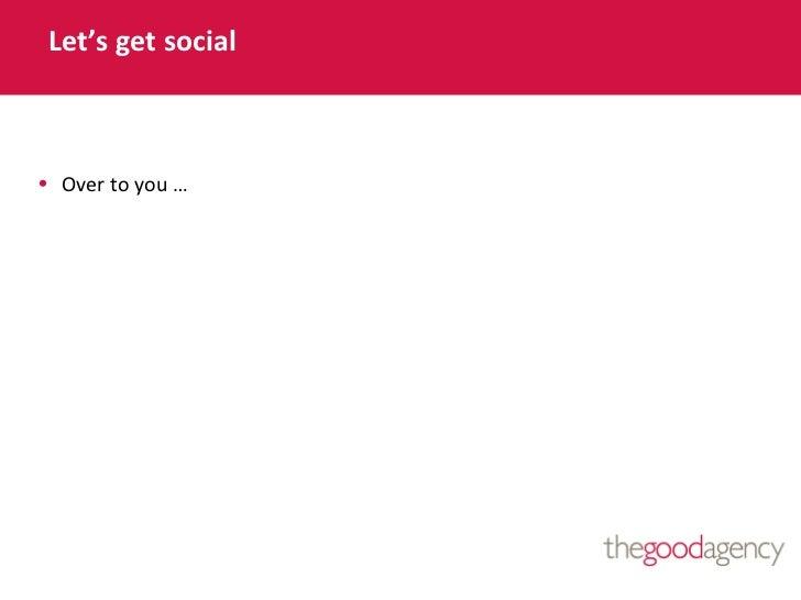 CharityComms_SocialMediaConference 2012 - Getting heard in an ever louder world - Charlotte Beckett