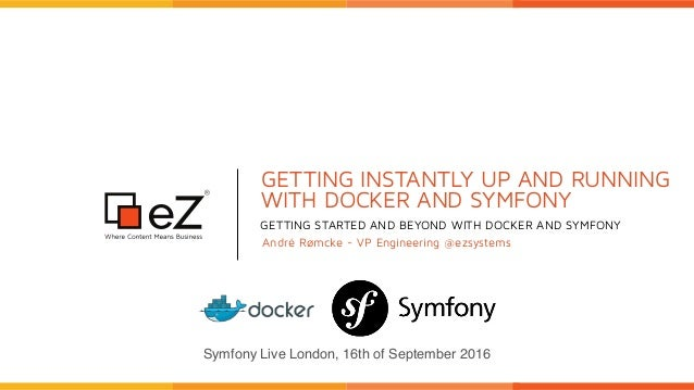 Getting instantly up and running with Docker and Symfony