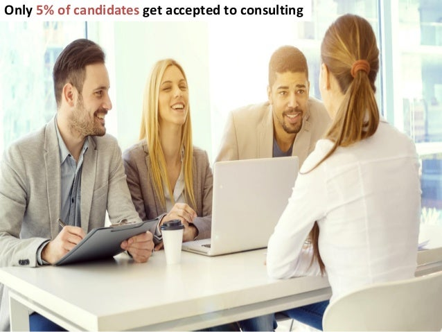 How to get into management consulting Slide 2