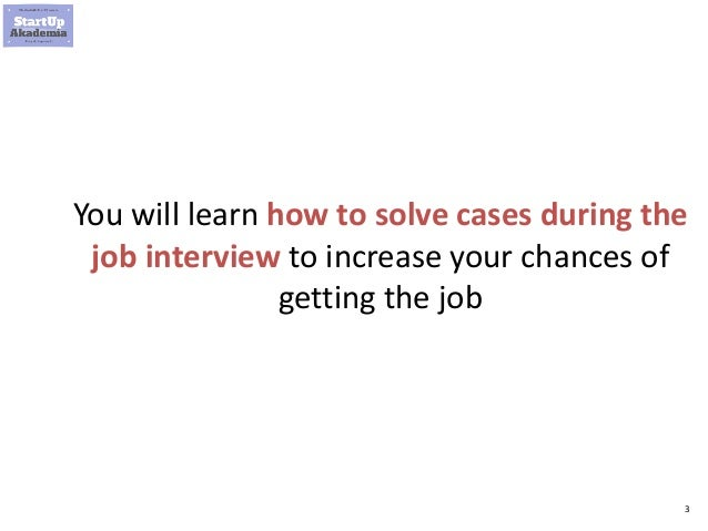 How to get into management consulting Slide 3