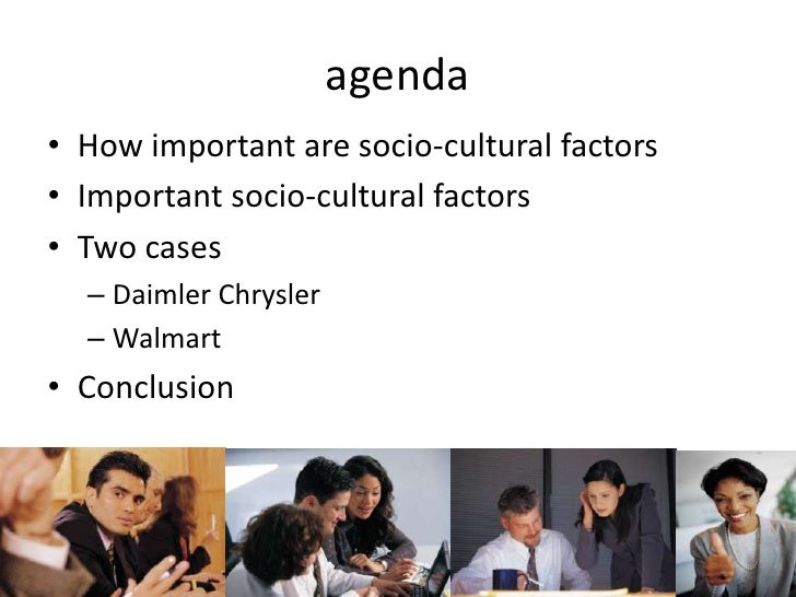 impact socio cultural factors on business If a business overlooks, or fails to identify the effects of socio-cultural factors, it  runs the risk of alienating itself with its immediate environment.