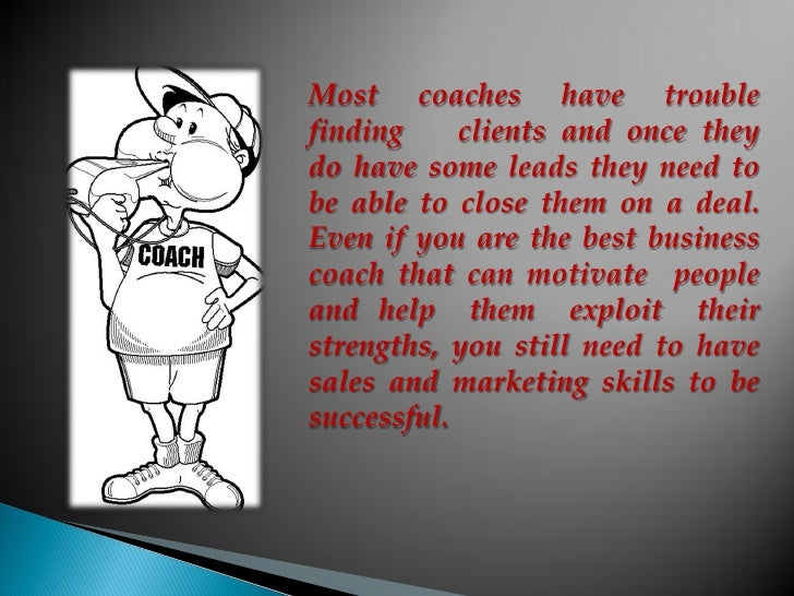 Getting more business coaching clients: 3 Essential tips Slide 3