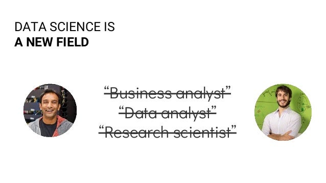 DATA SCIENCE IS A COMBINATION OF OTHER FIELDS + Data analysis + Statistics + Software engineering + Machine learning + Vis...
