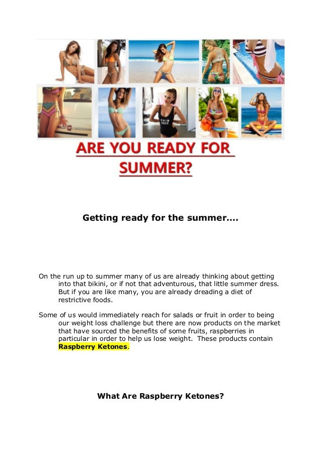 Getting ready for the summer…. On the run up to summer many of us are already thinking about getting into that bikini, or ...