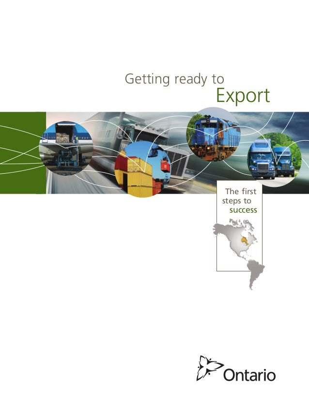 export readiness The export readiness programme we aim to grow exports by increasing the number of companies which are actually exporting our export readiness programme was launched in 2011 and is geared towards empowering and equipping new and potential exporters with the knowledge, tools and strategies to successfully expand their businesses into new markets and territories.