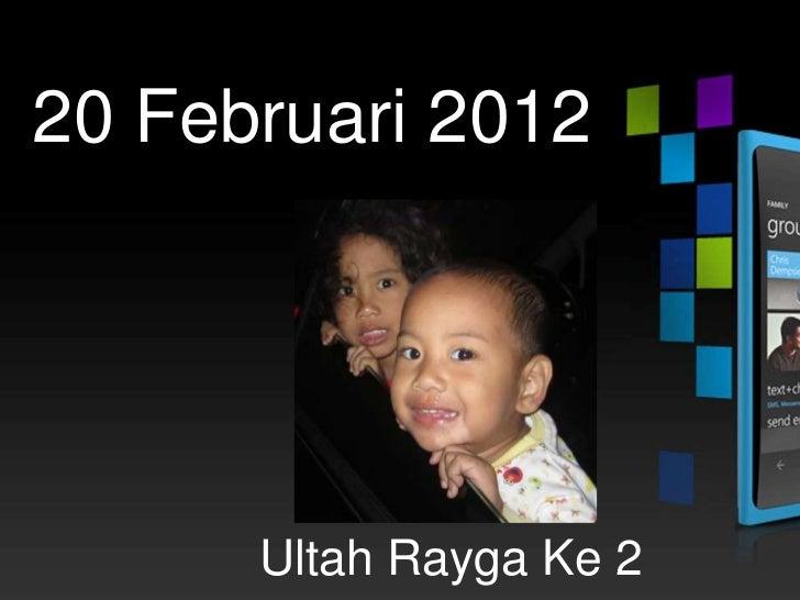 17 Februari 2012     Hadir di indonesia