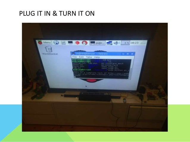 Getting started with a Raspberry Pi - an LED Matrix