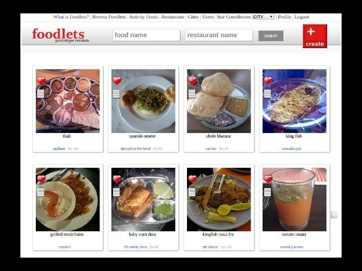 This is the Foodlets story     Keep eating good food and keep creating Foodlets :)       http://twitter.com/foodlets     h...