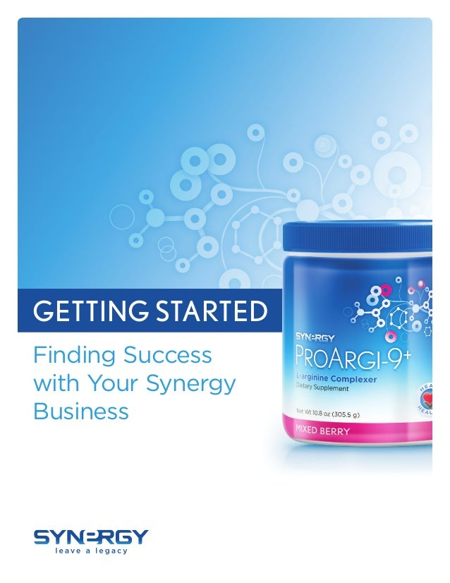 COLOR K COLOR GETTING STARTED Finding Success with Your Synergy Business