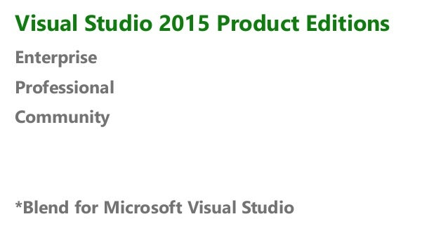 Visual Studio 2015 Ключ
