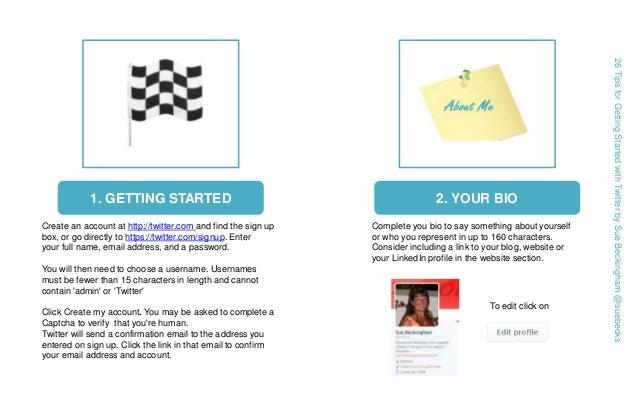 Getting started on Twitter Slide 2