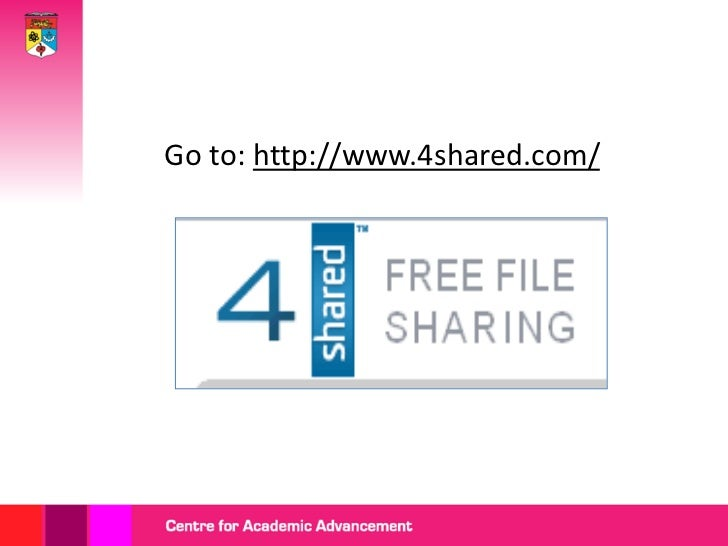 Getting started with 4 shared Slide 3