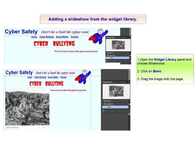 Adobe muse slideshow captions | Using widgets  2019-03-07