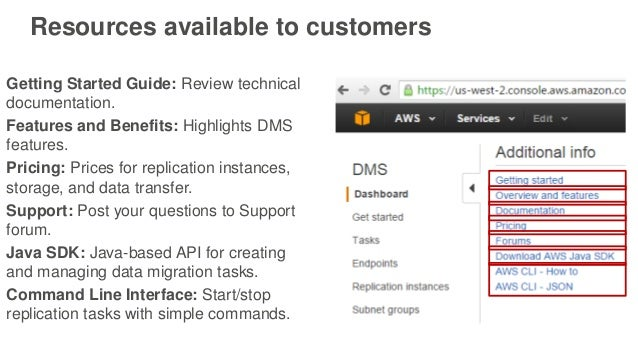 getting started with aws database migration service rh slideshare net aws s3 getting started guide aws s3 getting started guide