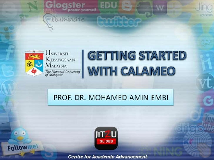 GETTING STARTED WITH CALAMEO<br />