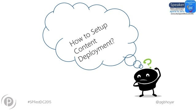 Getting started with content deployment in SharePoint 2013
