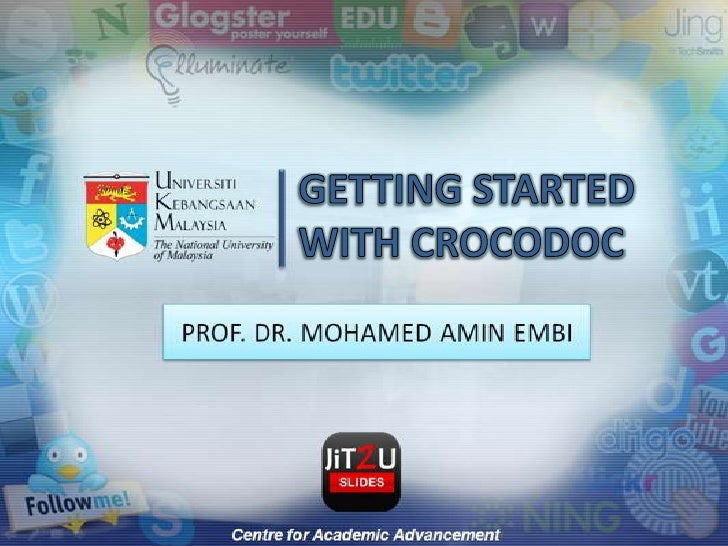 GETTING STARTED WITH CROCODOC<br />