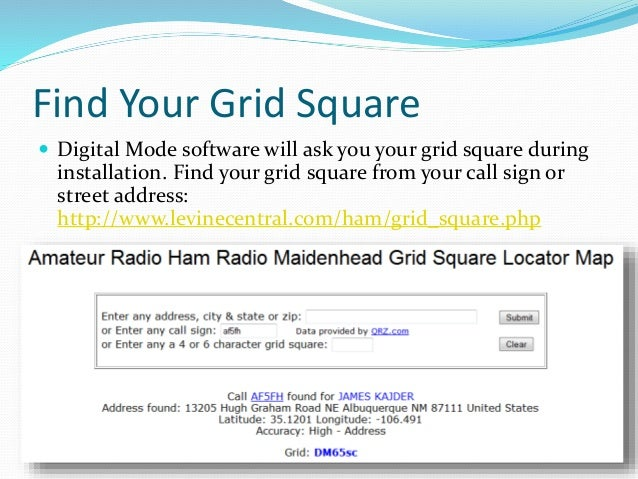 Getting Started With Digital Modes - Us maidenhead grid square map