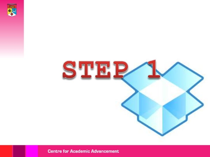 Getting started with dropbox Slide 2