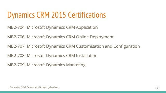 Getting started with Microsoft dynamics crm 2016