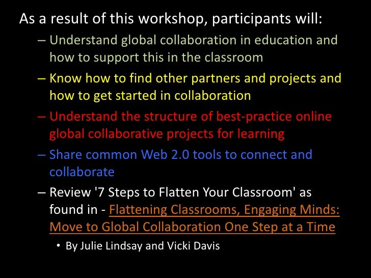 Collaborative Teaching Best Practices : Getting started with global collaboration