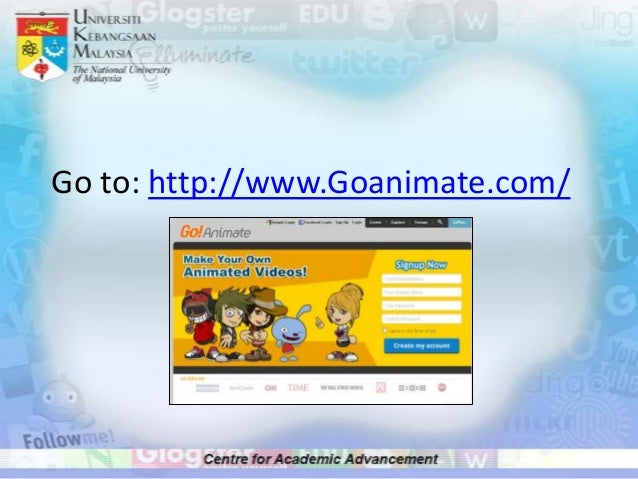 getting started with goanimate