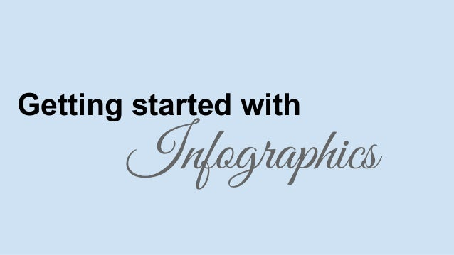Getting started with  Infographics