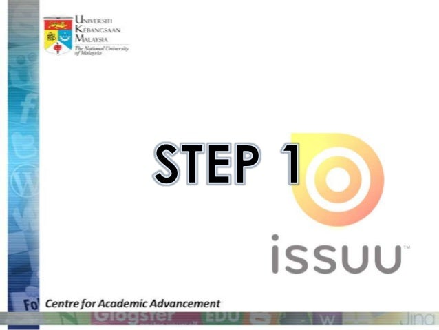 Getting started with issuu Slide 2