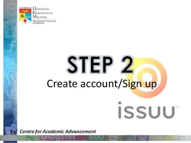 ISSUU will send an                          email to your                        registered email                         ...