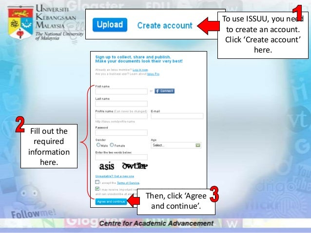 You will see         this window. Then click thisbutton to verify  your ISSUU   account.