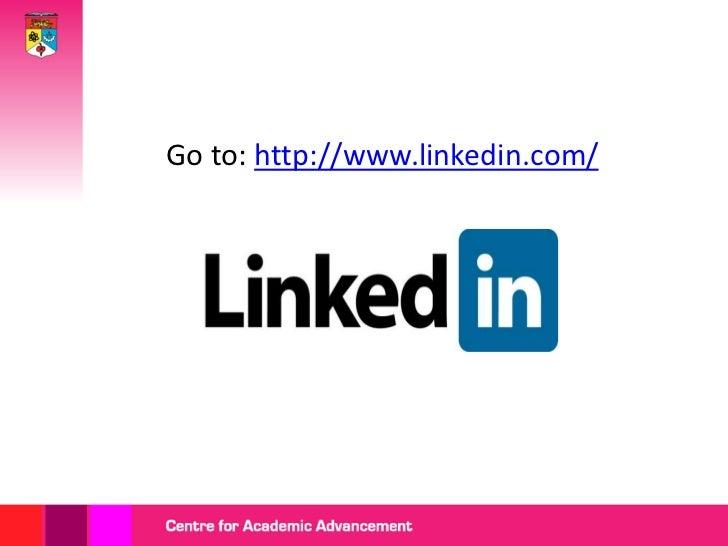 Getting started with linkedin Slide 3