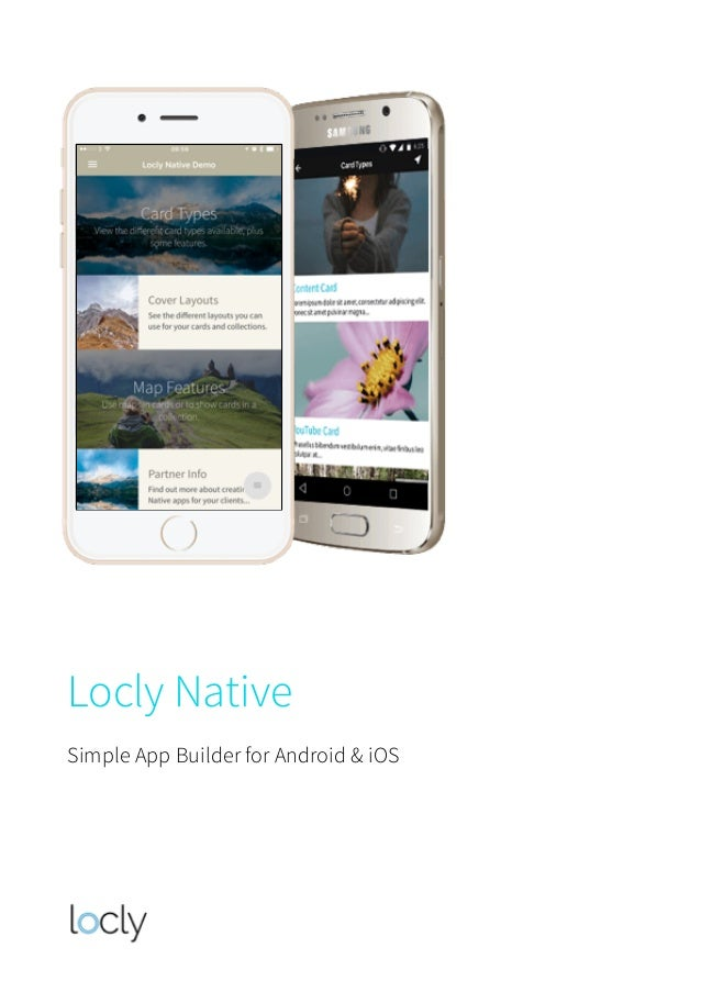 Locly Native Simple App Builder for Android & iOS