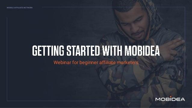 Webinar for beginner affiliate marketers