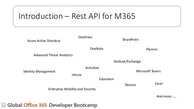 Getting started with ms graph api
