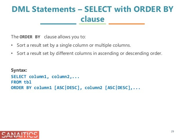 Getting Started with MySQL I