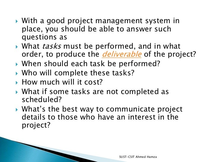 Getting started with project Slide 3