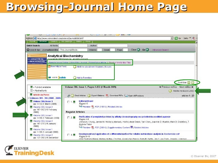 Browsing-Journal Home Page