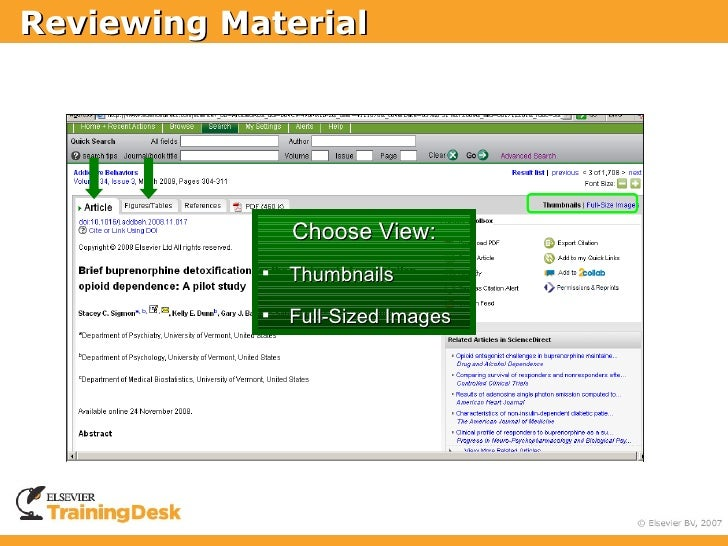 Reviewing Material                     Choose View:                Thumbnails                Full-Sized Images