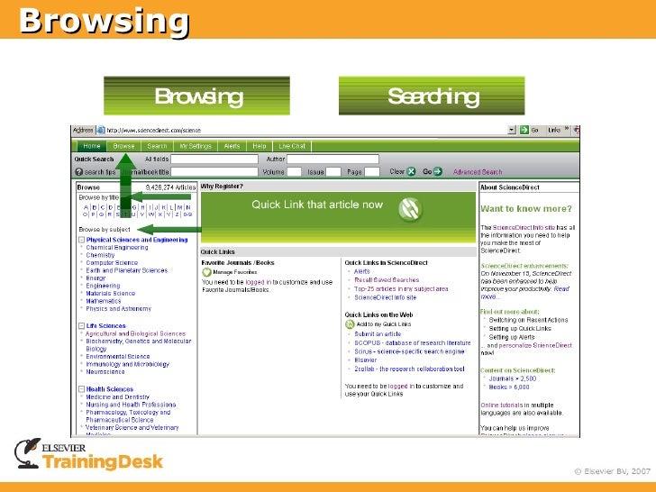 Browsing        Browsing   Searching