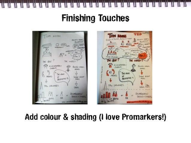 Finishing TouchesAdd colour & shading (I love Promarkers!)