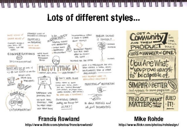 Lots of different styles…        Francis Rowland                                  Mike Rohdehttp://www.flickr.com/photos/f...
