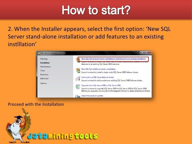 MS Sql Server: Getting Started With Sql Server 2008