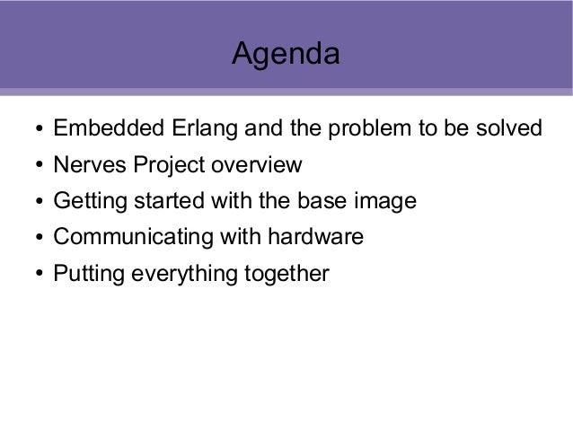 Embedded Erlang, Nerves, and SumoBots Slide 2