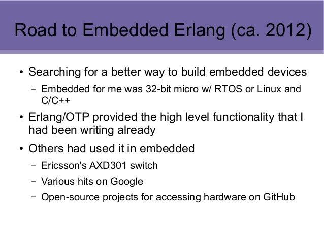 Embedded Erlang, Nerves, and SumoBots Slide 3