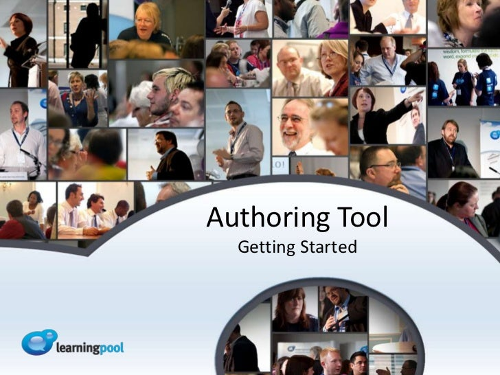 Authoring Tool  Getting Started