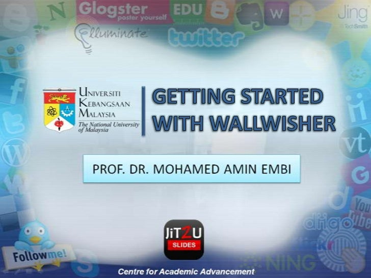 GETTING STARTED WITH WALLWISHER<br />